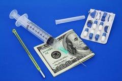 koszty opieki zdrowotnej Obrazy Stock