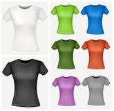 koszula barwione kobiety Zdjęcie Royalty Free