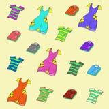 Koszula Koszulki i suknie, Zdjęcia Stock