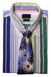 koszula krawat Fotografia Royalty Free