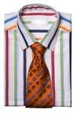 koszula krawat Zdjęcia Royalty Free