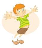 koszula paskująca chłopcze Fotografia Stock
