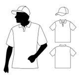 Koszulka Mężczyzna Fotografia Royalty Free