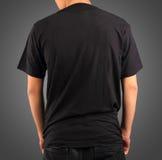 Koszulka szablon Zdjęcie Stock