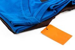 Koszulki metka Fotografia Stock