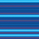 Koszulowego błękitnego mężczyzna lampasa stylu bezszwowy wzór Zdjęcie Stock
