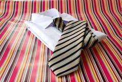 koszulowy krawat Zdjęcie Stock
