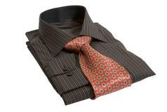 koszulowy krawat Fotografia Royalty Free