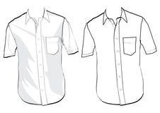 koszulowy szablon Zdjęcia Stock