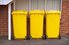koszy banialuk kolor żółty Obraz Stock