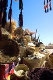 koszy bazaru wschodu spicery Zdjęcia Stock