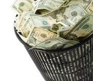 koszy dolary Zdjęcia Stock