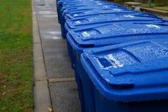 koszy recyling mokry Fotografia Royalty Free