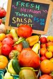 koszy sprzedaży salsa Zdjęcia Stock
