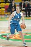 koszykówek kobiety Zdjęcie Stock