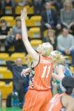 koszykówek kobiety Zdjęcia Royalty Free