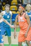 koszykówek kobiety Zdjęcia Stock