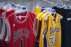 Koszykówek koszulki Fotografia Stock