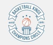 Koszykówek królewiątka ilustracji