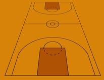 koszykówka royalty ilustracja
