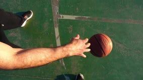 Koszykówka Bawić się zwolnione tempo widok