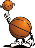 koszykówka charakter Obrazy Royalty Free