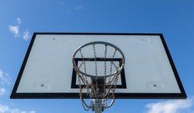 koszykówka deska sport sieci obraz stock