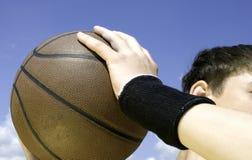 koszykówka działań Zdjęcie Stock