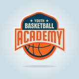 Koszykówka loga szablon Fotografia Royalty Free