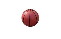 Koszykówka na białym tle Obrazy Royalty Free