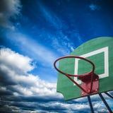 Koszykówka obręcz Zdjęcia Stock