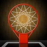 Koszykówka obręcz Obrazy Stock
