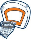 koszykówka obręczy wektora ilustracja wektor
