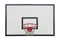Koszykówka obręcz Fotografia Royalty Free