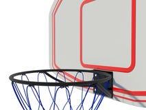 koszykówka pierścionek Zdjęcia Royalty Free