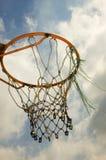koszykówka pierścionek Fotografia Stock