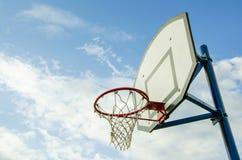 Koszykówka pierścionek Zdjęcie Royalty Free