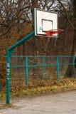 Koszykówka pierścionek Obrazy Stock