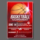 Koszykówka plakata wektor Turnieju sztandaru reklama Sporta baru wydarzenia zawiadomienie Gra, liga, Obozowy projekta puste miejs ilustracji