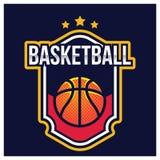 KOSZYKÓWKA sporta AMERYKAŃSKI logo ilustracja wektor