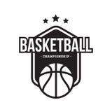 KOSZYKÓWKA sporta AMERYKAŃSKI logo Obrazy Royalty Free