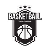 KOSZYKÓWKA sporta AMERYKAŃSKI logo Zdjęcie Stock