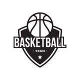 KOSZYKÓWKA sporta AMERYKAŃSKI logo Zdjęcia Stock
