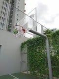 Koszykówka stojak zdjęcia stock