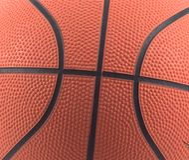 koszykówka szczegół Zdjęcie Royalty Free