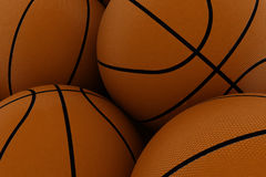 koszykówka tło Obraz Stock