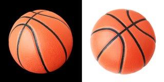 Koszykówka Z zapas fotografią (ścinek ścieżki) Obraz Stock
