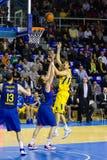 Koszykówki akcja Obrazy Stock