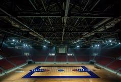 Koszykówki arena w Istanbuł obraz stock