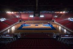 Koszykówki arena w Istanbuł zdjęcia royalty free